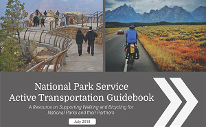 Cover of the NPS Alternative Transportation Guidebook