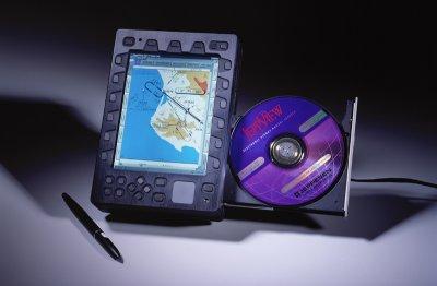 Northstar Technologies CT-1000 EFB software running on Windows 98.
