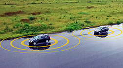 Car platooning technology testing