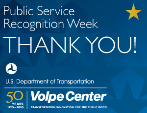 Thank You Sign for Public Service Recognition Week