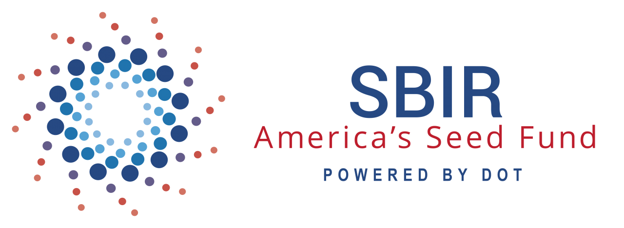 This is an image of the U.S. DOT SBIR logo.
