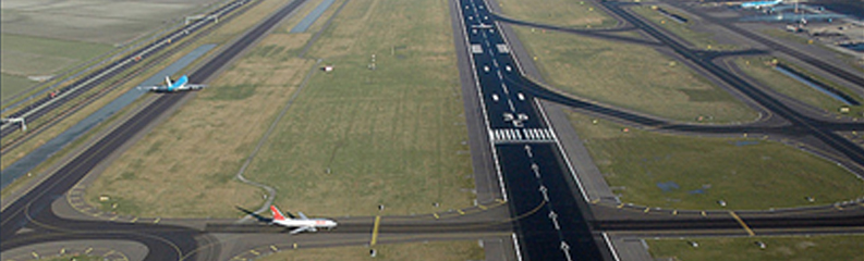 An image of an airport runway