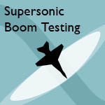 Thumbnail of Supersonic Boom Testing Cover
