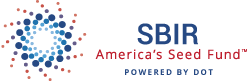 U.S. DOT Small Business Innovation Research logo.